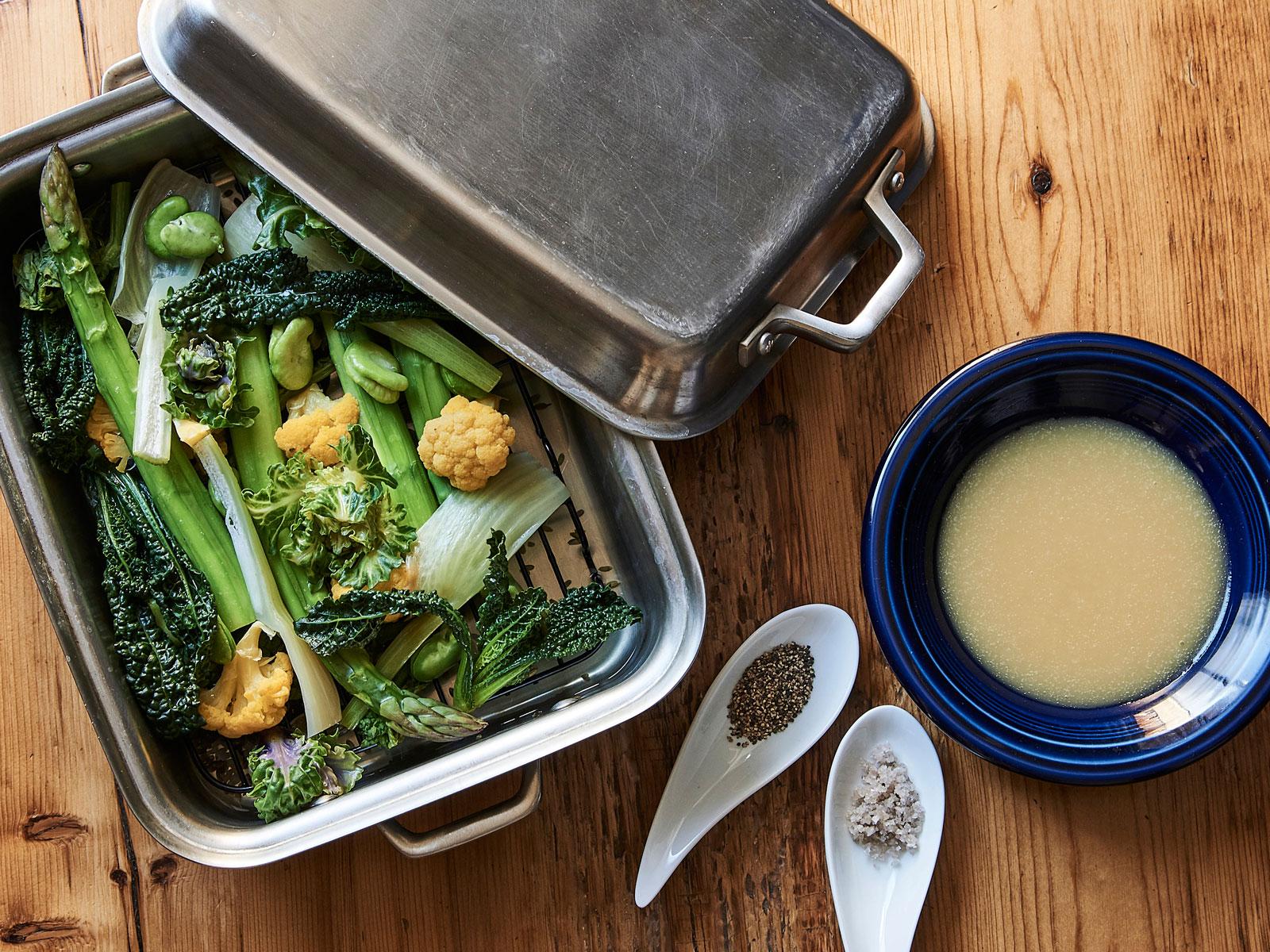 春野菜のブレゼのレシピ