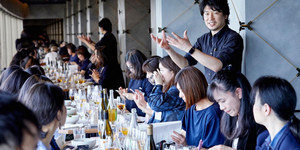 Kai House Clubイベントレポート オレンジワイン Longrain